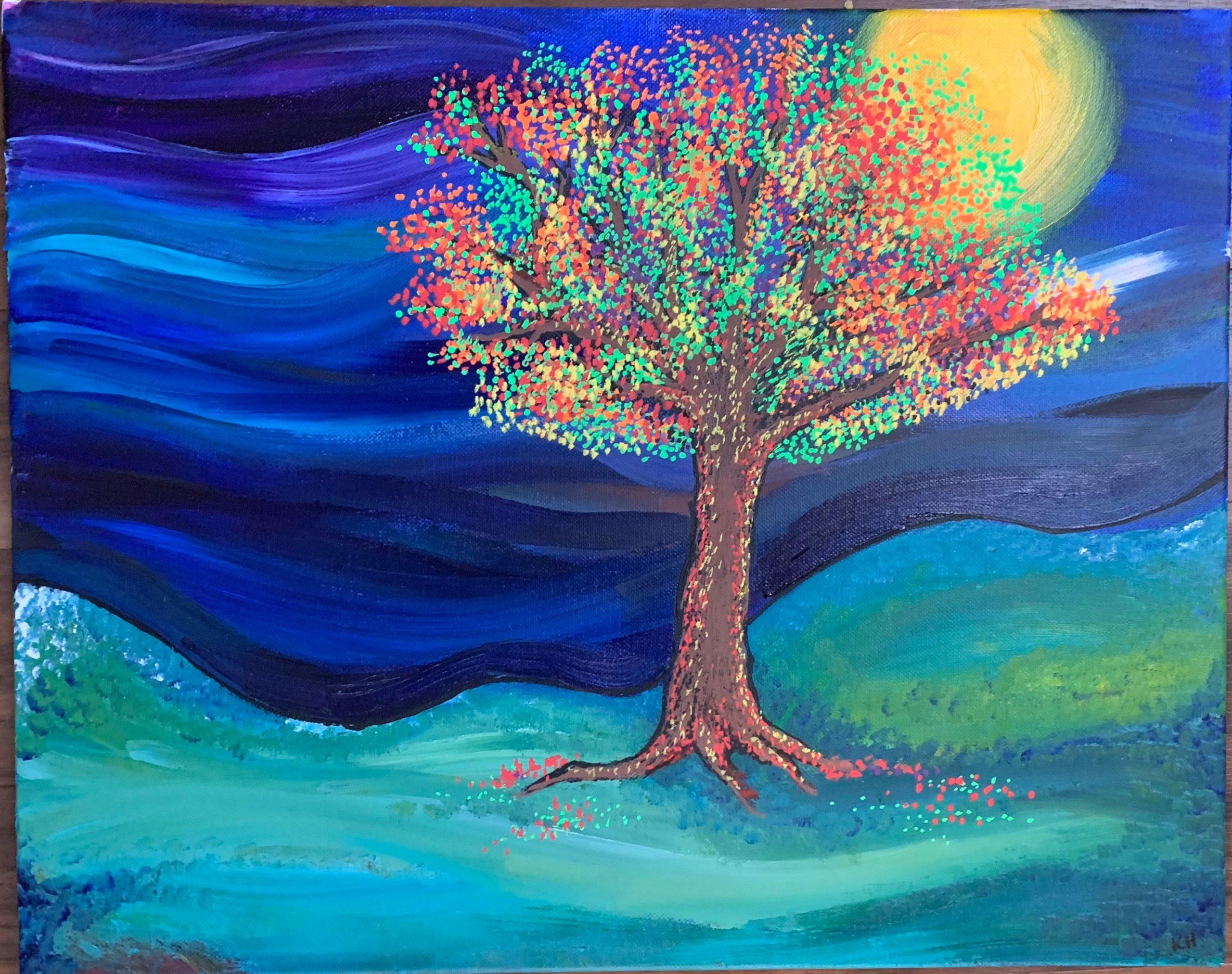 Tree by Kelly Hampton