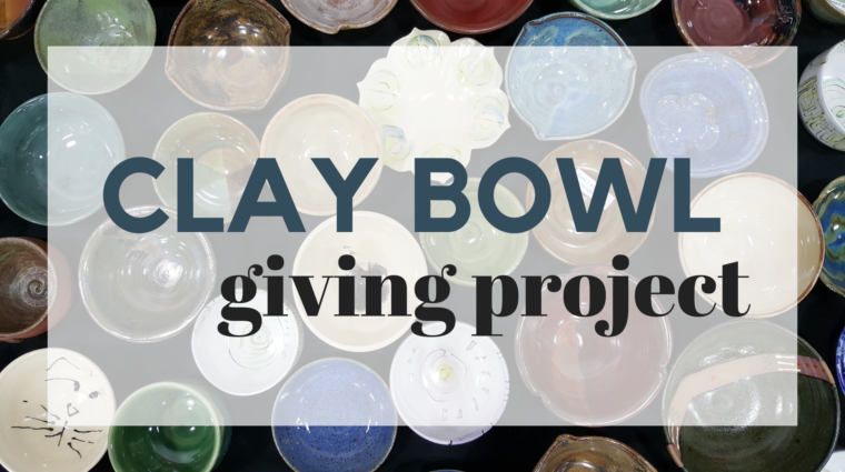 clay bowl giving project event photo