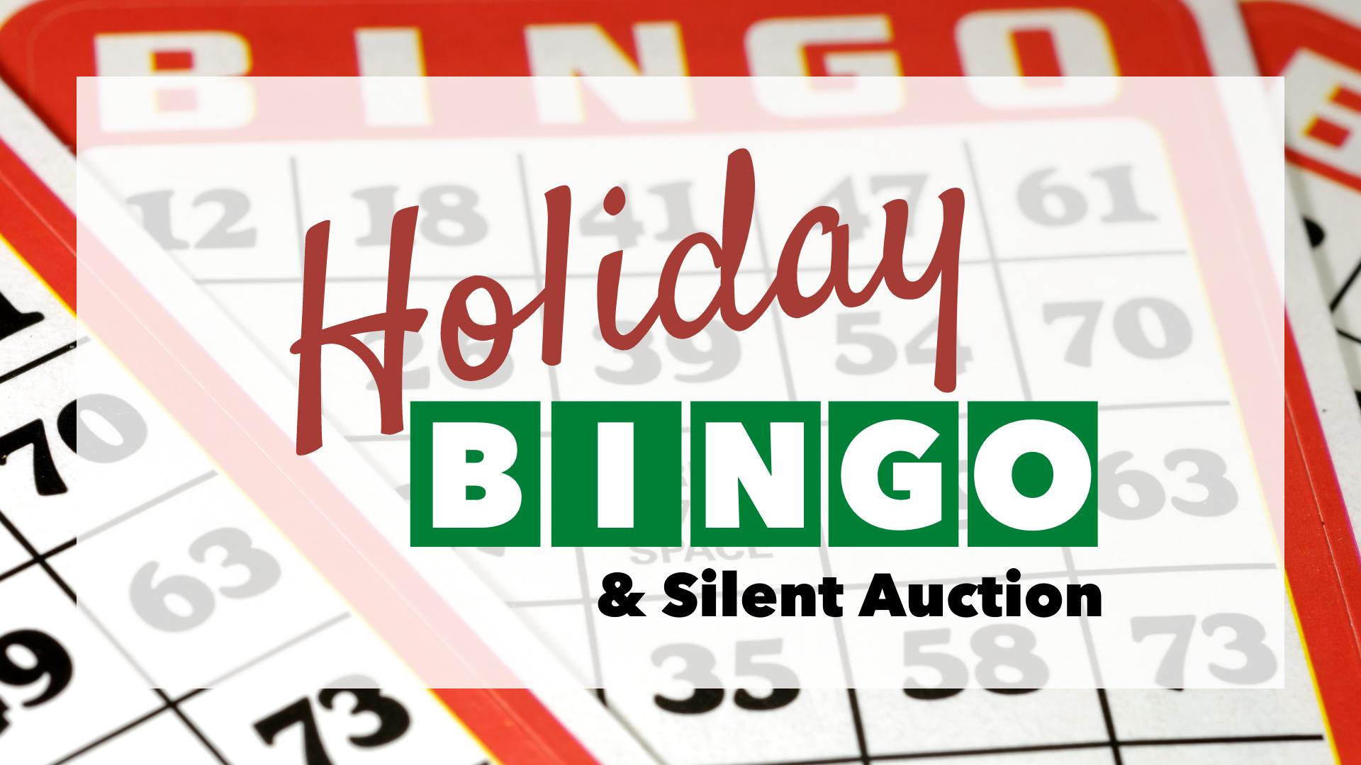 holiday bingo event photo