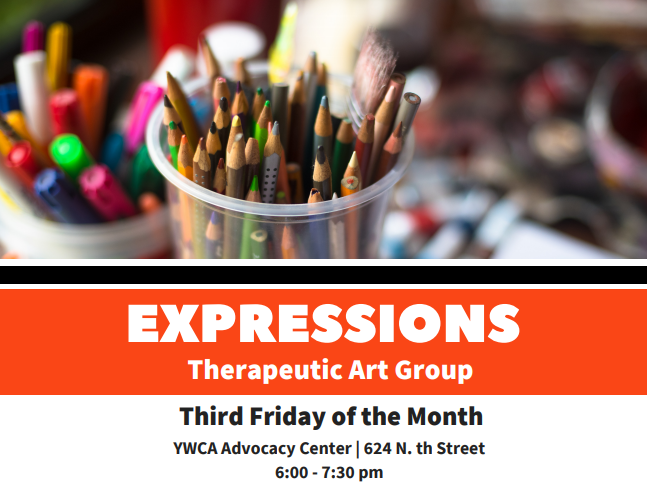 Expressions Therapeutic Art Group @ YWCA Advocacy Center | Lafayette | Indiana | United States