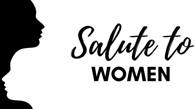 black and white salute to women subpage image