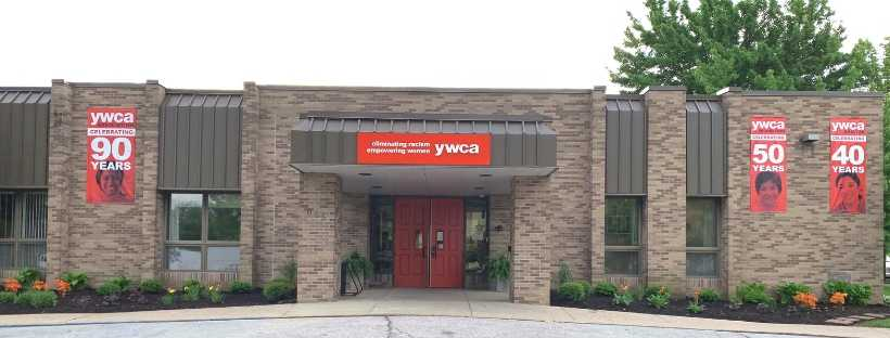 View of YWCA Greater Lafayette building exterior