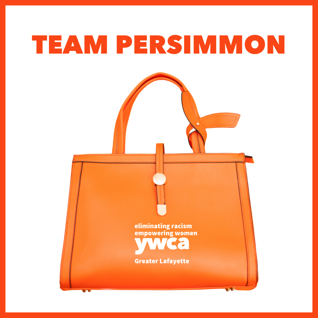 Power of the Purse team persimmon logo