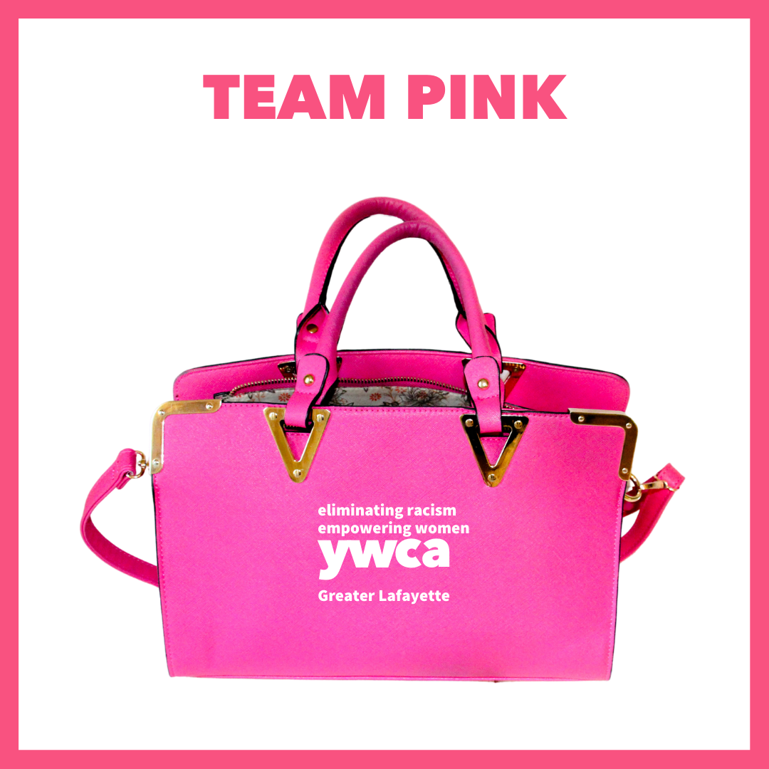 Power of the Purse team pink logo