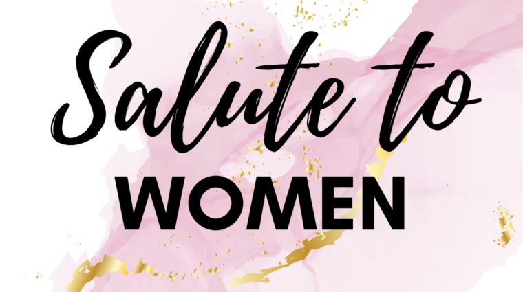 47th annual salute to women class of 2021 pink marble background