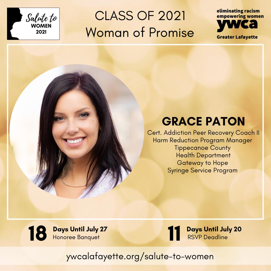 Salute to Women Class of 2021 Grace Paton