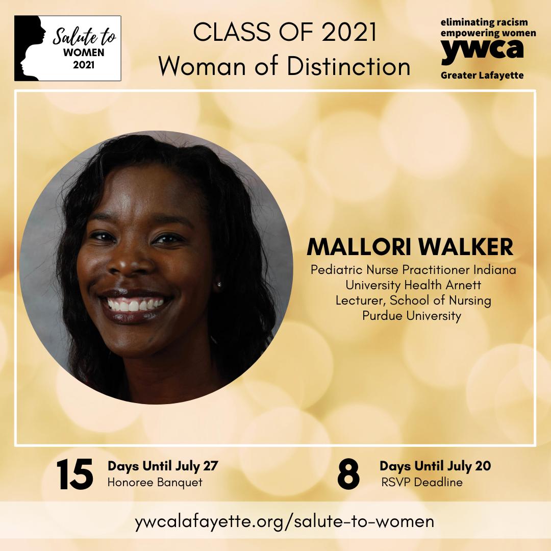Salute to Women Class of 2021 Mallori Walker