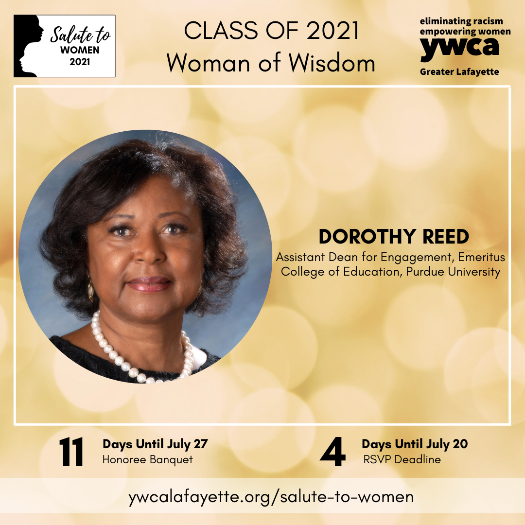 Salute to Women Class of 2021 Dorothy Reed