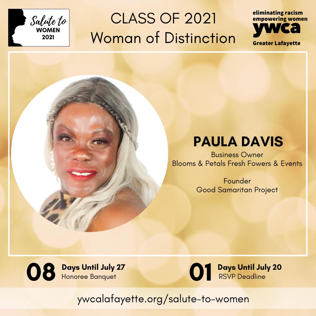 Salute to Women 2021 Paula Davis