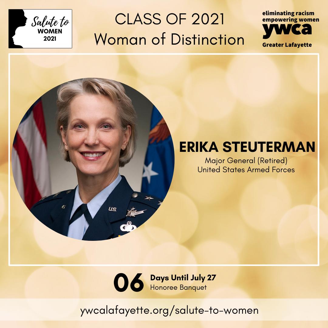 Salute to Women 2021 Erika Steuterman