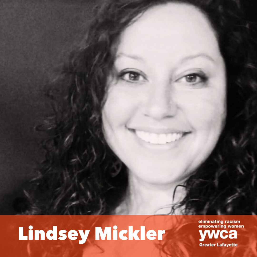 black and white photo of lindsey mickler the new president and ceo