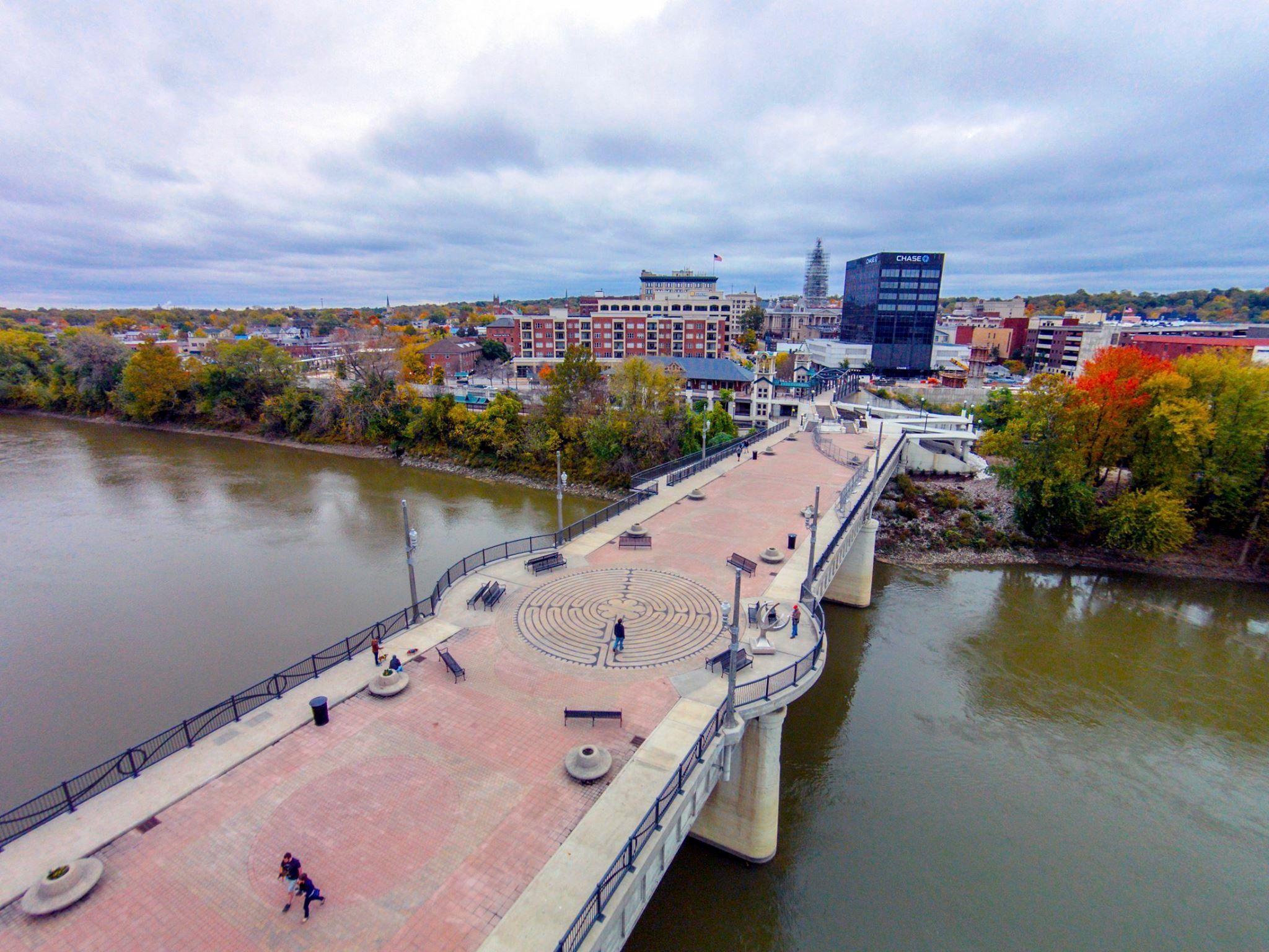 Meyers Pedestrian Bridge Lafayette Indiana